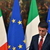 Schicksalstag für Matteo Renzi