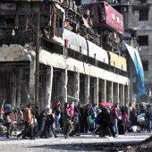 Keine Atempause für Bewohner von Aleppo