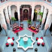 Übernachten in einem Riad