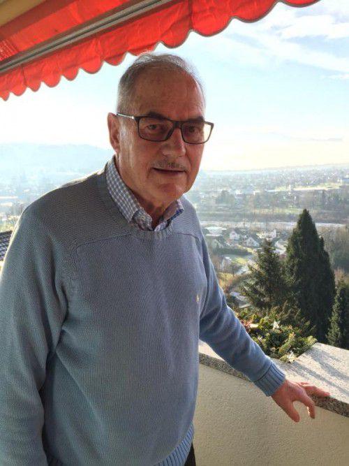 Kurt Brändle gehörte auch Jahrzehnte dem Bregenzer Männerchor an. VN/mersin