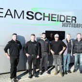 Scheider-Motorsport hat viel Ländle-Hilfe
