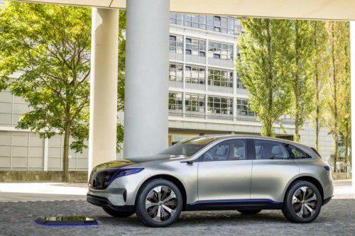 Mercedes EQ: Die Stuttgarter gründeten eine eigene Elektro-Submarke. Vorbote ist ein kompaktes SUV.