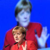 Dämpfer für Merkel bei der Wahl zur CDU-Chefin