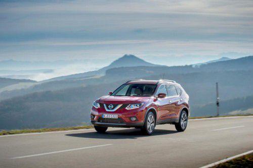 Mit dem 177-PS-Diesel soll der Nissan X-Trail zum bärigen Weitreise-Profi werden. Foto: werk