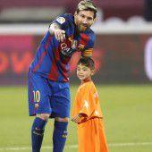 Murtasa traf sein Idol Messi