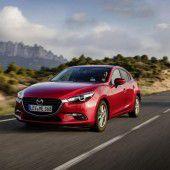 Aufgefrischter Mazda3