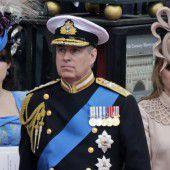 Prinz Andrew wettert gegen die Presse