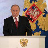 Russlands Präsident will mit Westen kooperieren
