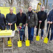 Baustart für 14 Wohnungen am Hohenemser Emsbach