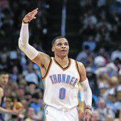 Westbrook ist weiterhin nicht zu stoppen