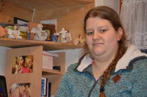Sarahs Ziel ist es, arbeiten und selbstständig leben zu können.