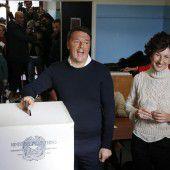 Italien-Referendum ist Zitterpartie für Renzi