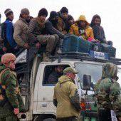 Evakuierung von Ostaleppo gestoppt