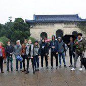 Dornbirner Schüler zu Gast im fernen China