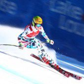 Christina Ager war in Lake Louise die Beste