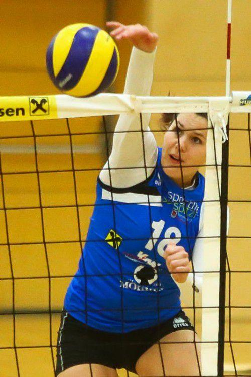Veronika Zeferino de Oliveira ist wieder zurück beim VC Dornbirn.Steurer