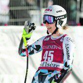 Ski laufen lassen und Vollgas geben