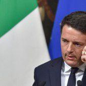 Italienischer Premier Renzi reicht Rücktritt ein