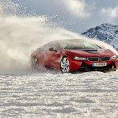 Mit BMW am Gletscher: Auf allen vieren zum Gipfel