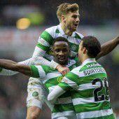 Celtic gewann Glasgow-Derby mit 2:1.
