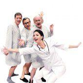 Das Schauspiel Urologie ist heute, morgen und am Samstag im Theater Kosmos in Bregenz zu sehen, 20 Uhr.