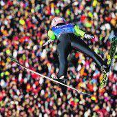 Stefan Kraft weiter im Rennen um den Gesamtsieg
