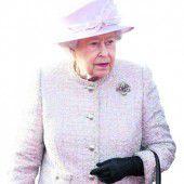 Sorge um die Queen