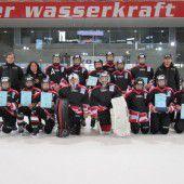 Ländle-Nachwuchscracks landeten in Innsbruck auf Platz acht