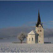 Winter zeigt sich von der schönsten Seite