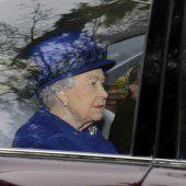 Königin Elizabeth II. ist wieder gesund
