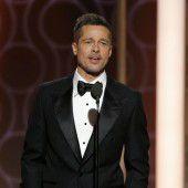 Pitt überrascht mit Golden-Globe-Auftritt