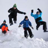 So kann es mit dem Spaß im Schnee weitergehen