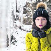 Die Kälte hat Vorarlberg fest im Griff