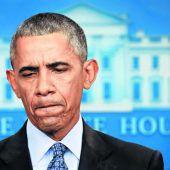 Melancholischer Obama sagt Adieu