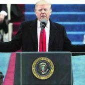 Donald Trump zum 45. Präsidenten der USA angelobt