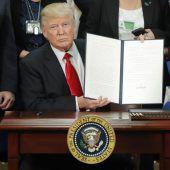 Trump macht ernst