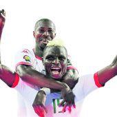 Burkina Faso, Ghana, Kamerun und Ägypten im Halbfinale