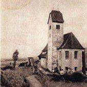 vorarlberg einst und jetzt. Kirche St. Michael in Feldkirch-Tisis