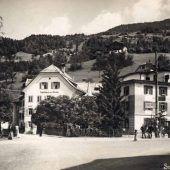 vorarlberg einst und jetzt. Gasthaus bzw. Hotel Krone