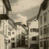 vorarlberg einst und jetzt. Dorfstraße Schruns