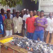 Götzner Fundräder für Hilfsprojekt in Afrika