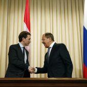 Kurz wirbt in Moskau für Ausbau der OSZE-Mission