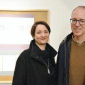 Zwillinge zeigen Werke im Bildungshaus Batschuns