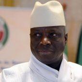 Jammeh macht Weg für seinen Nachfolger frei