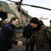 Kurz für Verstärkung der OSZE-Mission