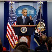 Von Sorgen geprägter Präsidenten-Abschied