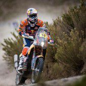Rückschlag für Walkner bei Dakar-Rallye