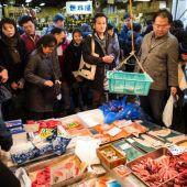 Wirbel um den größten Fischmarkt in Japan