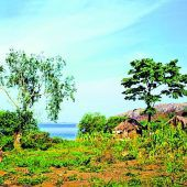 Der größte See in Afrika