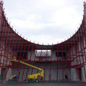Messehallen-Neubau geht in finale Phase